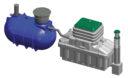 Ecoflo als 2 Behälteranlage